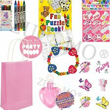 Pre Filled Girls Party Bags For Children kids Birthdays