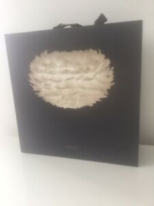 Eos Feather Lamp Shade White Mini