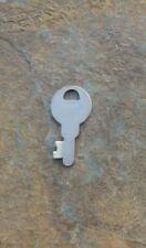 Antique Flat Steel Key Corbin Cabinet Lock Company  Padlock Key #  K96
