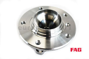BMW E82 E88 E89 OEM FAG Front Wheel Bearing & Hub Assembly 805554AC 31216765157