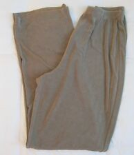 CHICO'S TRAVELERS PANTS SIZE 1 REG SAGE OLIVE GREEN