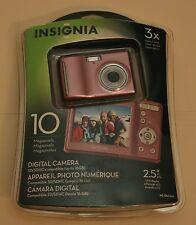 Insignia NS-DSC10 10.0 MP Digital Camera - Pink
