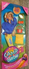 Camp Barbie Teresa Doll Set 1993 by Mattel with Accessories - New In Box #11078