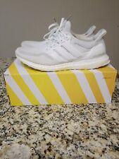 Adidas Ultra Boost 2.0 'Triple White' Running Shoes (AQ5929) Men's 12