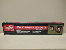 Rawlings 2 in 1 Target/Pitch Combo 60x44 Pitchback Baseball Pitching Trainer
