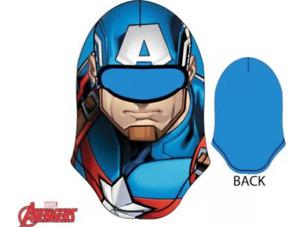 Marvel Avengers Captain America Kids Polar Winter Hat Ski Cap, Mask or Balaclava
