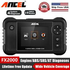 Ancel FX2000 Car OBD2 EOBD Diagnostic Scanner Check Transmission ABS SRS Engine