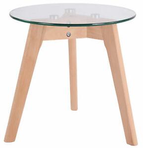 Tavolino Tondo Vetro Motala Scandinavo Tavolino Moderno Salotto Telaio In Legno