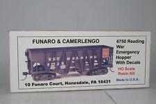 FUNARO & CAMERLENGO No. 6750 READING WAR EMERGENCY HOPPER - WITH DECALS