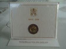 2 Euro commémorative VATICAN 2009 - ANNEE DE L'ASTRONOMIE  RARE !!!!