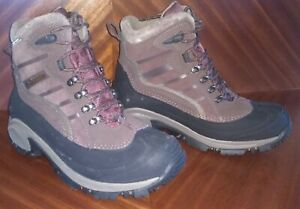Columbia Whitefield Omni-Tech/Grip Winter Hiking Snow Boots Men's NEW  sz7 mens