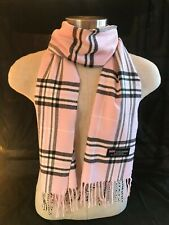 100% Cashmere Plaid scarves made in Scotland