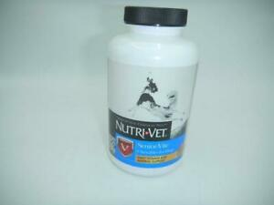 Pet MultiVitamin Supplement For Dogs Adult Nutri-Vet Chewable Tablets 120 Count