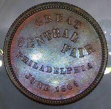 (1864) SOLDIER'S SANITARY FAIR NY750L/1a (R-2)G. WASHINGTON - PHILADELPHIA, PA