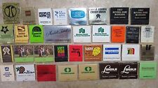 Lot of 34 Vintage Matchbooks - Various Banks, Credit unions etc..