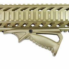 La chasse angle Foregrip Hand Guard Front Grip pour Picatinny Quad Rail Tan