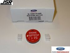 15-17 Mustang GT V6 & 2.3 Ford Performance Red Starter Start Button from GT350