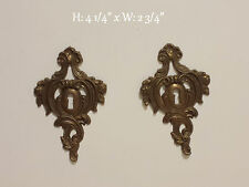Dresser Lock plate  SET OF 2 VINTAGE CHEST *FREE SHIPPING*