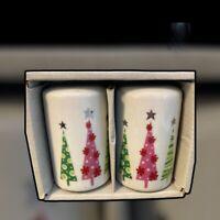 Modern Christmas Trees Salt and Pepper Set