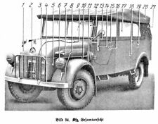 Dienstvorschrift D 665/3  Steyr Baumuster 1500 A/01 Gerätbeschreibung