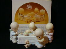 New ListingPrecious Moments-7 Piece Thanksgiving Family Dinner Set-$355V-1'st Marks