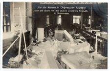 Germany World War I.Post card.  Russian pogroms.