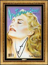 ANDY WARHOL Authentic Signed Color Lithograph Cybill Shepherd Portrait Photo Art