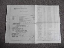 Unitra K-101 Radio, Servicing Instruction Sheet.