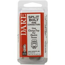 3 Pk Dare Galvanized Steel Electric Fence Ground Wire Split Bolt Tap 2083-3
