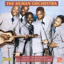 THE HUMAN ORCHESTRA 2 CD (THREE KEYS, THE QUINTONES, FIVE JINKS, ...) NEW+
