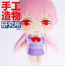 The Future Diary Gasai Yuno Mirai Nikki Wedding Dakimakura DIY toy Doll Material