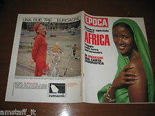 EPOCA 1965/787=DIAMANTI AFRICA=MOUNT KENYA SAFARI CLUB=