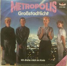 """7"""" 1982 RARE ! METROPOLIS : Großstadtlicht // VG+? \"""