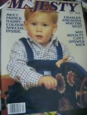 Majesty Magazine V6 #9 Harry Color Special, Charles & Diana In America, 1985 Pho