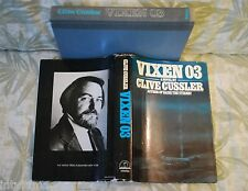 VIXEN O3 < signed> by CLIVE CUSSLER  1st. First Edition Dirk Pitt novel
