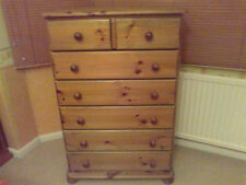 PINE FURNITURE RICHMOND 5+2 CHEST OF DRAWERS NO FLAT PACKS