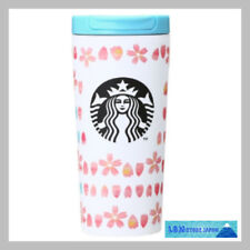 F/S Starbucks JAPAN tumbler steel stainless 2018 SAKURA Cherry blossom white 355