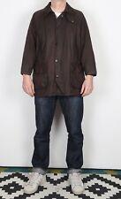 "BARBOUR Bedale Wax Jacket Chest 42"" Medium Large Brown (K1T)"