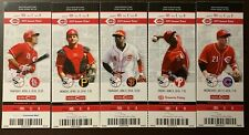 Cincinnati Reds 2014 Mlb ticket stubs - One Ticket - See Listing