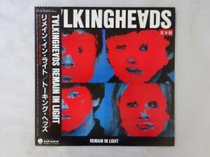 Talking Heads Remain In Light Sire RJ-7691 Japan PROMO  LP OBI