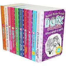 Dork Diaries Rachel Renee Russell Collection 10 Books Set Skating Sensation TV
