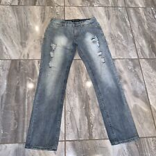 rue21 BLACK MENS 32 X 34 JEANS Distressed