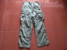 Vietnam War Tropical Combat 2nd Pattern (No Rip Stop) Pants Small