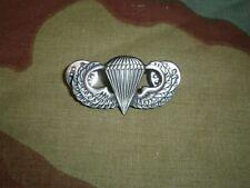Brevetto spilla paracadutista americano US, WW2 Airborne jump wings paratrooper