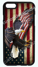 AMERICAN EAGLE FLAG PHONE CASE COVER FOR IPHONE XR XS X 8 7 6S 6 PLUS 5 5S 5C 4S