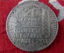 ancienne piece monnaie 20 francs f turin 1929