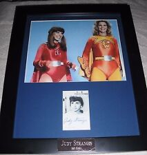 Judy Strangis Guest star of BATMAN Framed Matted Signed Autograph Autgraphed