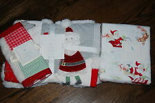 NWT Pottery Barn Kids Christmas Quilt, toddler sheets set, sham 5PC