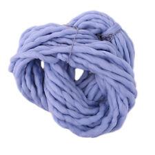 250G Soft Super Thick Big Spinning Roving Bulky Chunky Hand Knitting Ply Yarn wa