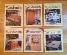 (11) WOODSMITH Magazines Lot Woodshop Woodworking Issues Vol.16/17 92-102